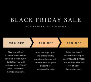 cocotiv coworking review november black friday